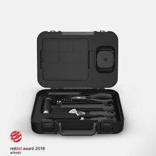 Xiaomi Miiiw Hand Tool Set 16Pcs Diy Set Tool Huishoudelijke Hand Tool Met Schroevendraaier Moersleutel Hamer Tape Tang Mes toolbox