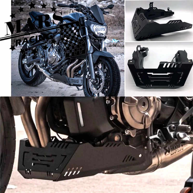 Motorcycle Chassis Expedition Skid Plate Engine Guard Chassis Protective Cover For YAMAHA MT07 MT-07 2018-2019 XSR700 XSR-700