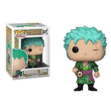 FUNKO POP ONE PIECE & Roronoa Zoro Vinyl Action Figure Collection Model toys for Children Christmas gift 2017 funko pop batman action figure toys plastic vinyl figures desk toys birthday christmas gift for kids children