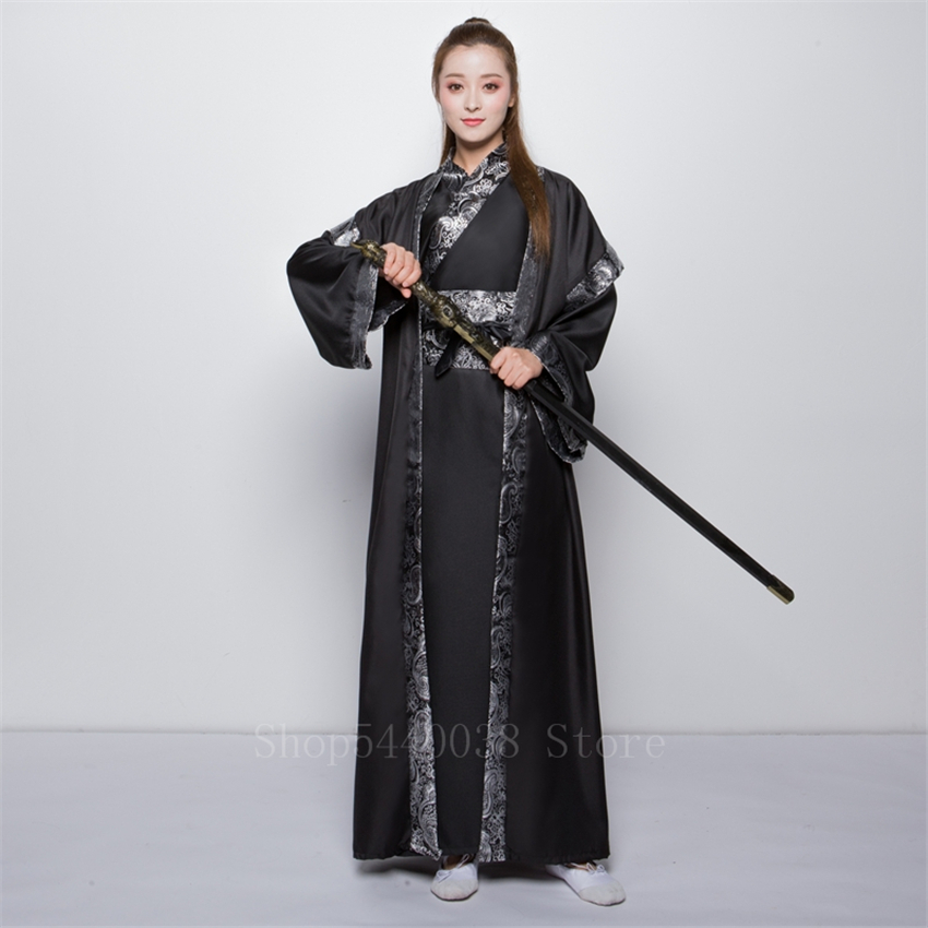 Dance-Costume Performance Stage Ancient Dynasty Chinese Hanfu Traditional Elegant Women