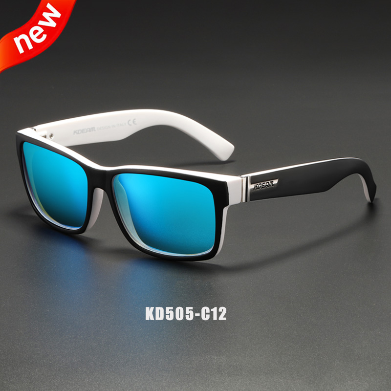 KDEAM Revamp Of Sport Men Sunglasses Polarized Shockingly Colors Sun Glasses Outdoor Driving Photochromic Sunglass With Box 4