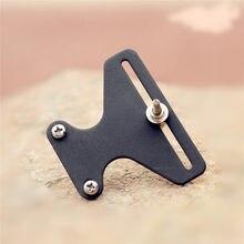 ¡Novedad! 1 Uds. Tornillos de Metal con forma de T para Arco, Kit sencillo, aguja de Tiro con Arco recurvo, compuesto Universal de visión de arco