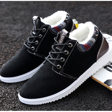 2019 New Warm Winter Shoes Fashion Men Casual