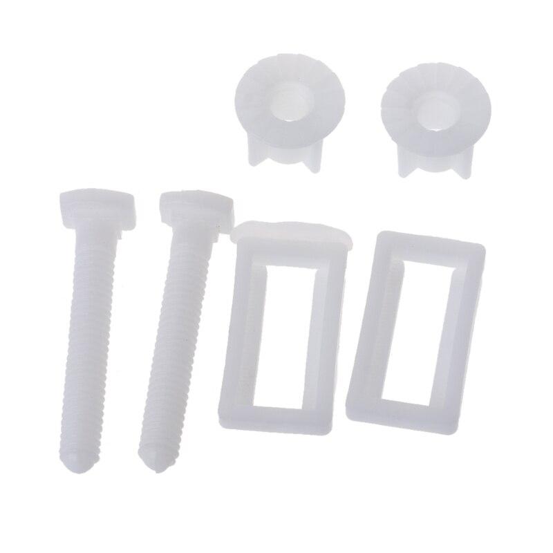 1 par assento do toalete dobradiça parafusos parafuso fixação kit montagem assento do toalete navio da gota