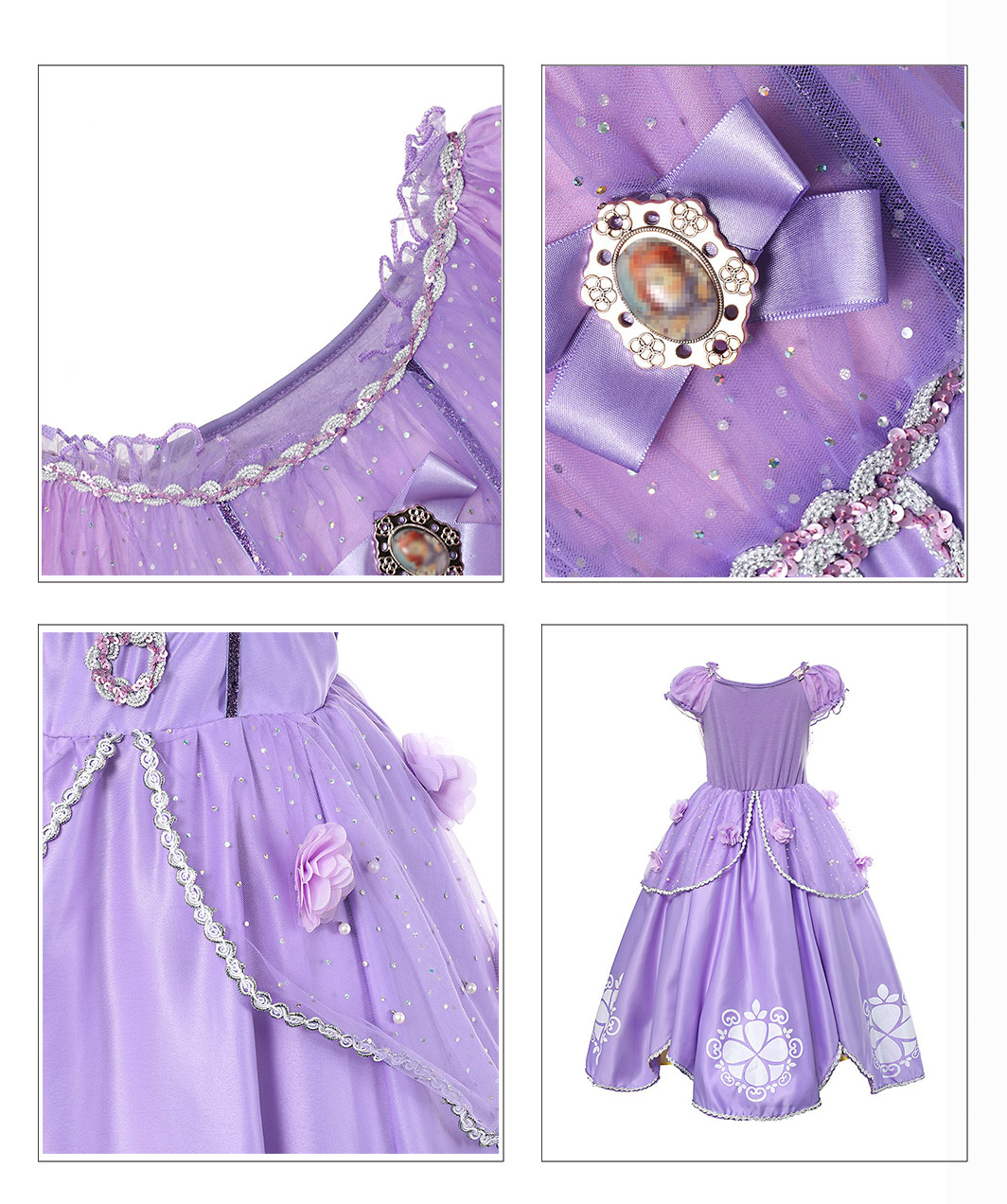 He1af60f4c1144574bc5a2aedbb826430q - Fancy Baby Girl Princess Clothes Kid Jasmine Rapunzel Aurora Belle Ariel Cosplay Costume Child Elsa Anna Elena Sofia Party Dress