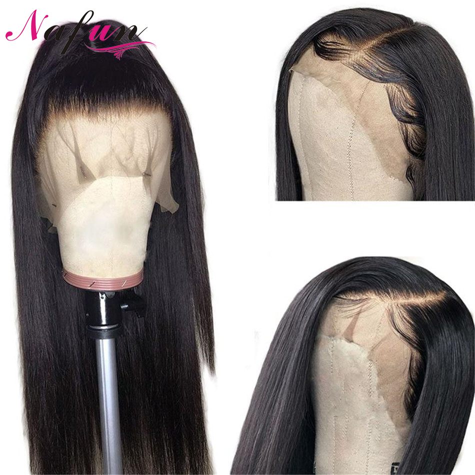 Straight Lace Front Human Hair Wigs Brazilian Hair Wigs Human Hair Wigs For Women Lace Frontal Wigs Transparent Lace Remy Wigs