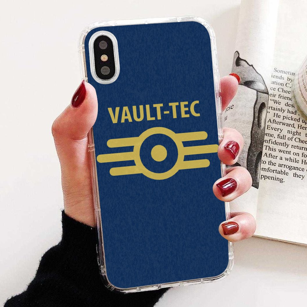 Buy Silicone Phone Case For iPhone 11 Pro 4 4S 5 5S SE 5C 6 6S 7 8 X 10 XR XS Plus Max For iPod Touch game fallout vault tec 111(China)