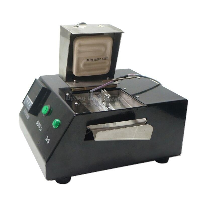 BGA Reball Machine 200W Solder With Direct Heat Universal Stencil 16 Pcs Set 220V LY M700