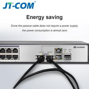 Image 2 - 10Gb SFP+ DAC Twinax Cable, Passive, Compatible with Cisco SFP H10GB CU2M, Ubiquiti, Intel, Mikrotik, Netgear, D Link, 1m,2m,5m