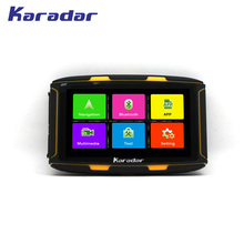 Navigation Gps Bluetooth4.0 Android-6.0 KARADAR Ipx6-Motor Waterproof WIFI 1G Car Loaded