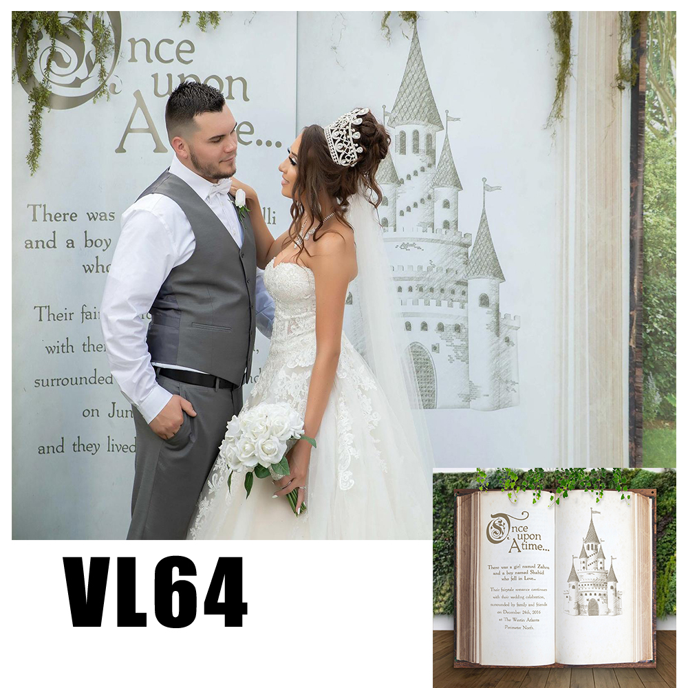 Wedding Book Photo Backdrop Customize Bridal Banner Background Party Supplies Photo Props Vl64 Background Aliexpress