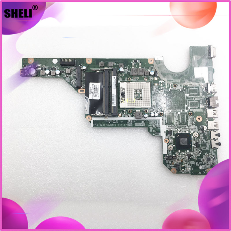 DA0R33MB6F1 680568-501 For HP Pavilion Laptop Motherboard G7 System Notebook Pc Mainboard Main Board