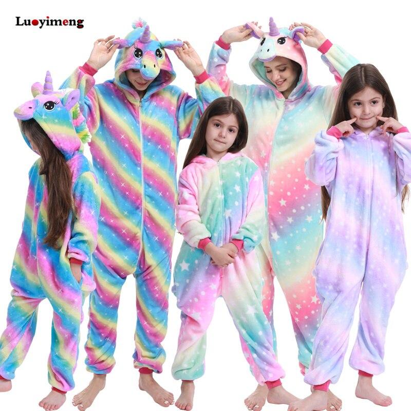 New Animal Unicorn Pajamas Adults Winter Sleepwear Kigurumi Wolf Panda Unicornio Pyjamas Women Onesie Anime Costumes Jumpsuit 5