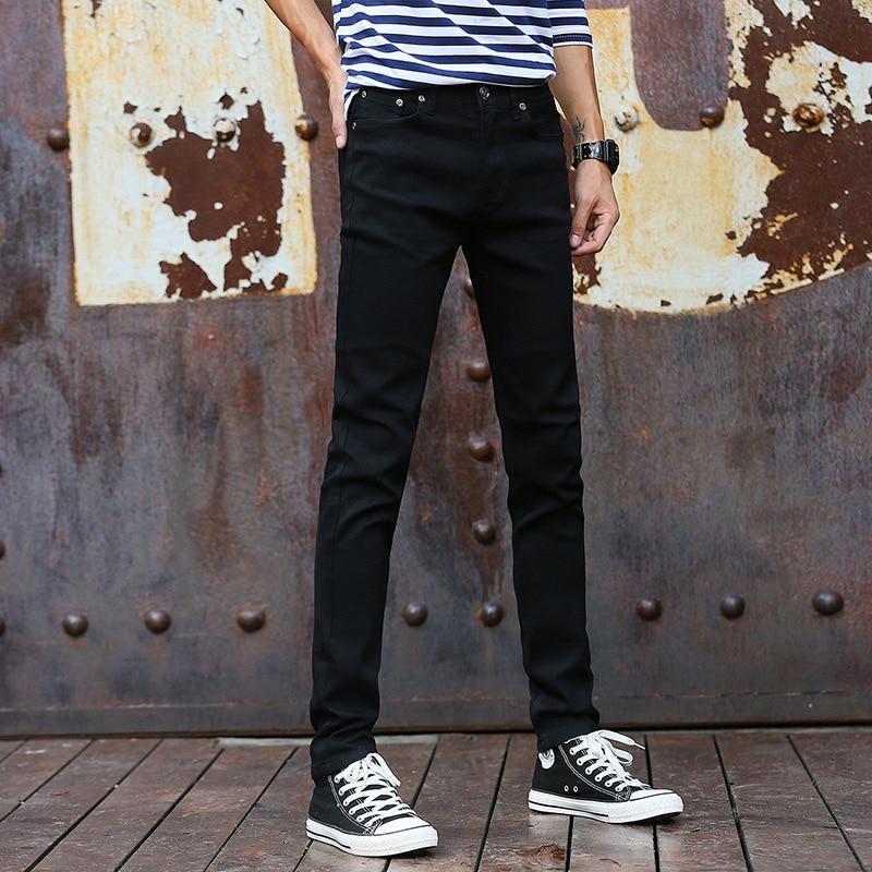 Autumn And Winter New Products Elasticity MEN'S Jeans Slim Fit MEN'S Jeans Men's Korean-style Long Pants 8011