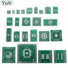 Yuxi адаптер печатная плата комплект smd qfp lqfp qfn поворот