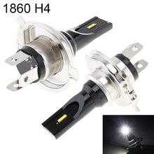 2шт 12V H4 высокой мощности 1860 лампы бусины 1200LM 6500 K-7500 K белый Вождение бегущая автомобильная лампа лампы для автомобильных фар