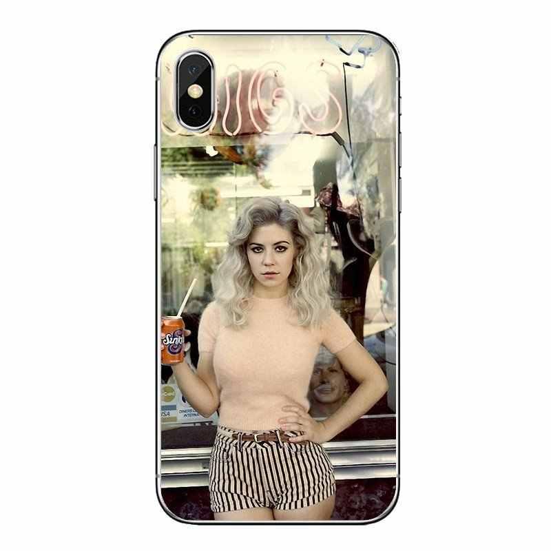 Kecantikan Gadis Marina dan Berlian Lembut Transparan Kasus Penutup untuk Motorola MOTO X4 E4 E5 G5 G5S G6 Z z3 G3 C Play