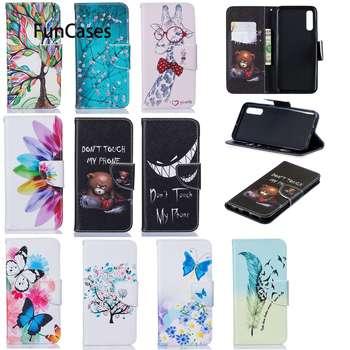 Fundas de teléfono móvil para accesorios Samsung A20, Estojo de Animal para...