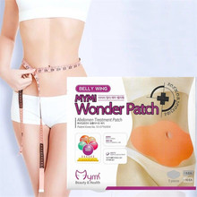 Hot 30 Days Quick Slimming Patch Belly Slim Patch Abdomen Slimming Fat Burning N