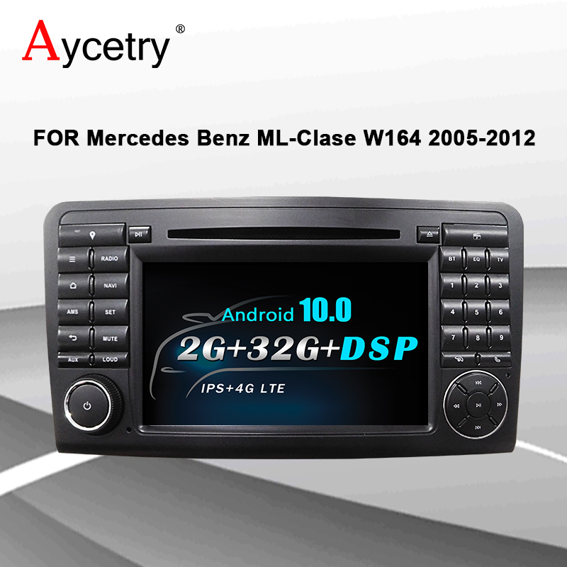 4G LTE For Mercedes Benz ML GL CLASS W164 ML350 ML500 GL320 Car Radio 2din Android 10 dvd player autoradio Navigation GPS Audio|Car Multimedia Player| - AliExpress