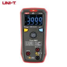 UNI-T mini ut123d portátil multímetro digital tamanho do bolso do agregado familiar multi-tester ac dc ncv medição do interruptor do resistor de tensão