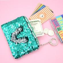 Mini Coin Purse Faux Leather Tassel Pendant Women Lady Card Holder Wallet Case