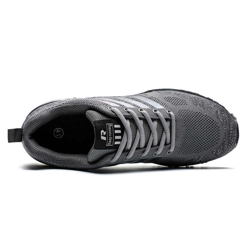2020 Pria Bernapas Sepatu Outdoor Ringan Golf Sepatu Nyaman Pelatihan Atletik Sepatu untuk Pegolf Pria Sport Sepatu
