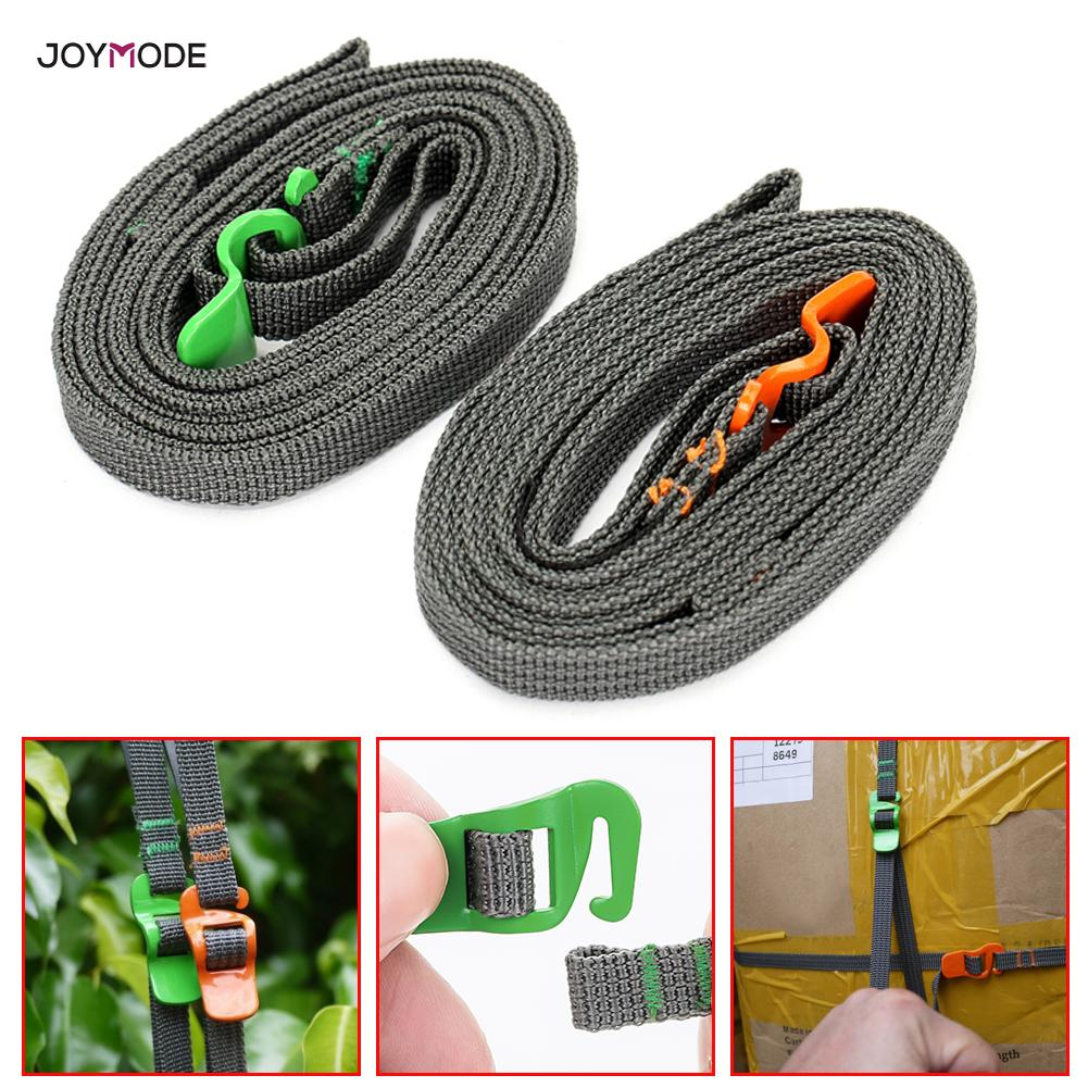 Quick Release Type Tie Strap Bundle Rope Luggage Strap Stainless Steel Belt Hook Outdoor Travel Camping Climbing Equipment
