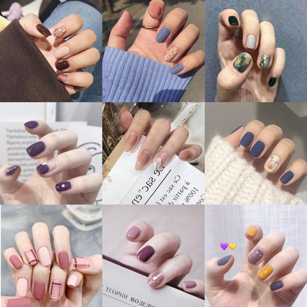 Купить накладные наклейки для ногтей пластыри съемный пластырь на одну