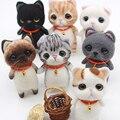 Jiwuo креативная игрушка ручной работы для домашних животных, шерстяная войлочная игла, милый кот для самостоятельного изготовления, шерсть, ...
