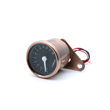 JIUWAM Universal Fluorescence Bronze Motorcycle Odometer Speedometer For Retro