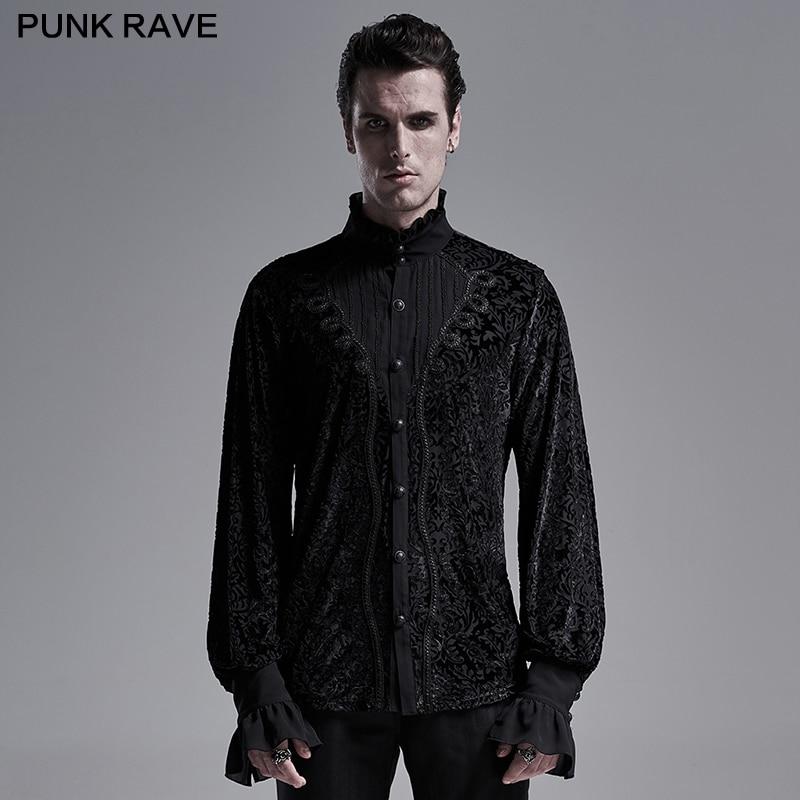 Gothic gorgeous shirt Punk Rave WY-1280CCM