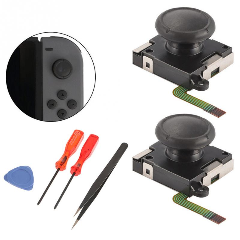 Screwdriver Joystick-Tool-Set Switch Repair-Parts-Controller Right-Rocker Analog-Replacement
