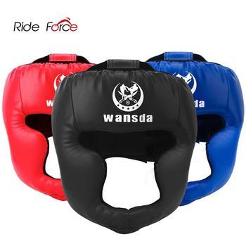 Шлем для кикбоксинга для мужчин и женщин, ПУ для обучения карате, Муай Тай, гуанты де боксе, свободная борьба, MMA, Санда, для взрослых