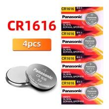 Nova marca Panasonic 4PCS Cr1616 Botão Célula Tipo Moeda 3 V Baterias Para O Controle Remoto de Controle Remoto Elétrico Automático