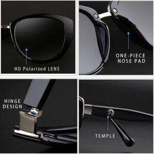 Image 5 - PARZIN Fashion eleganckie damskie okulary przeciwsłoneczne w stylu wysokiej marka jakości projektant UV400 okulary przeciwsłoneczne damskie spolaryzowane gorąca sprzedaż