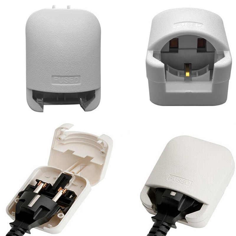 Uniwersalny 13A 250V HK singapur malezja (zjednoczone królestwo wielkiej brytanii) przewód zasilający on-line kabel konwertera złącze ue do wielkiej brytanii adapter połączone wtyczka