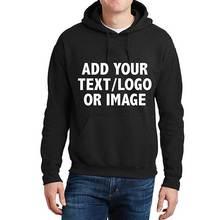 2021 Custom Hoodies Logo Text Photo Print Men Women Personalized Team Family Customize Sweatshirt sudadera Among Us Hoodie