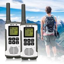 Retevis RT45 PMR Radio Mini PMR Walkie Talkie 2 pcs 0.5W PMR446 PMR 446 FRS Two-Way Radio Camping/Hiking/Traveling Walkie-Talkie