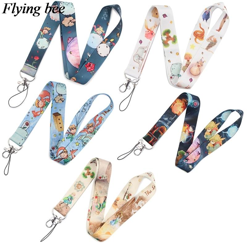 Flyingbee Funny Cactus Keychain Cartoon Cute Phone Lanyard Women Fashion Strap Neck Lanyards For ID Card Phone Keys X0847