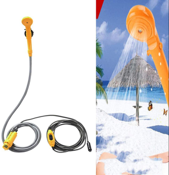 12V Electric Travel - Portable Pet Shower/Washer  1