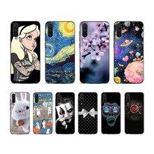 For Xiaomi Mi 9 mi CaseSoft Silicone TPU Back Cases MI Case mi9 Phone Cover Coque Funda On MI9