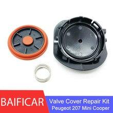 Baificar 브랜드의 새로운 pcv 밸브 커버 수리 키트 푸조 207 ep6 vti 시트로엥 미니 쿠퍼 n12 n16 용 멤브레인 밸브 캡