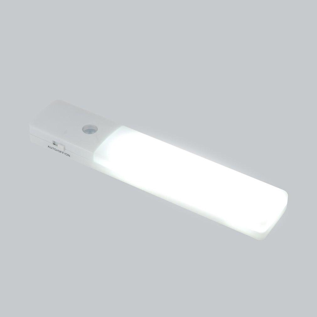 LED USB Chargeable Motion Sensor Night Light Human Body Induction Light Sensor Lamp For Wardrobe Corridor Basement