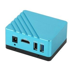 Uhd 8.0mp 1080 p 4 k sony imx334 hdmi industrial microscópio de vídeo câmera do telefone pcb cpu solda c montagem u disco gravador de vídeo