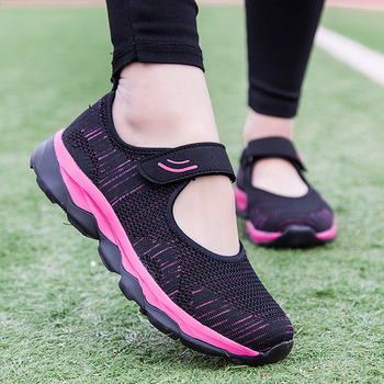 Fashion Breathable Women Flats Shoes New Mesh Woman Vulcanize Shoes Summer Lightweight Ladies Sneakers Calzado Mujer Big Size 2020 summer new women shoes fashion sneakers mesh breathable flats shoes woman lace up shallow zapatos de mujer ladies shoes