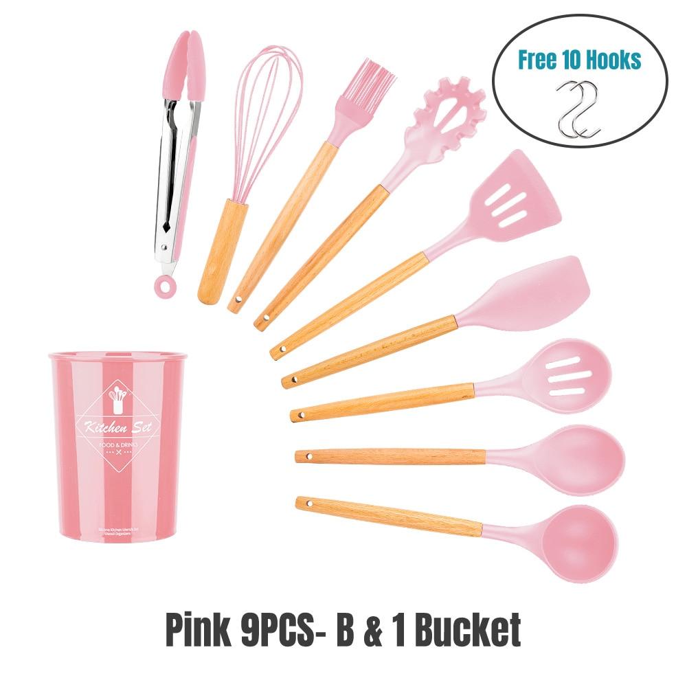 PINK 9PCS-BK