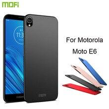 MOFi For Motorola Moto E6 Case Hard Luxury Protection Back Cover Phone
