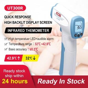 UNI-T Handheld Digital Infrared Thermometer Portable Digital Non-contact Infrared Thermometer Laser Temperature Gun termómetro