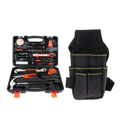 kit de ferramentas de proprietarios de 25 pecas conjunto de ferramentas basicas para casa escritorio